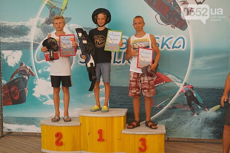Победителей Чемпионата Украины по виндсерфингу определили и наградили на Херсонщине , фото-2
