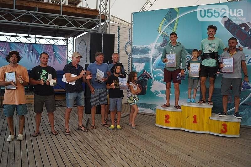 Победителей Чемпионата Украины по виндсерфингу определили и наградили на Херсонщине , фото-1