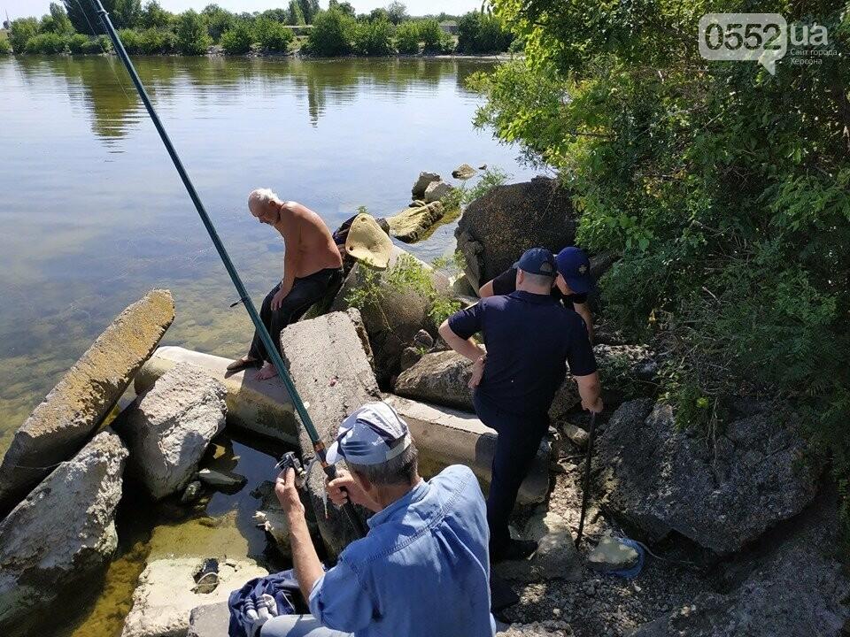 На Херсонщине спасли от смерти рыбака, которого придавило камнем, фото-2