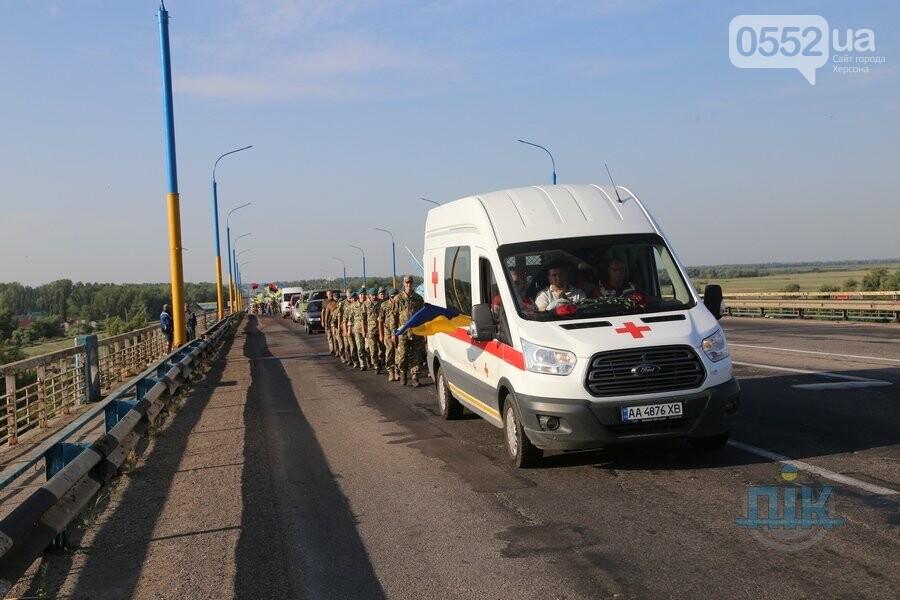 Погибшую на Донбассе военного медика Ирину Шевченко Херсон провожает в последний путь, фото-4