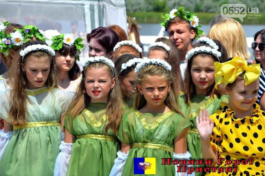 На Херсонщине в Голой Пристани «звезды» поют в честь открытия фестиваля «Купальские зори» , фото-4