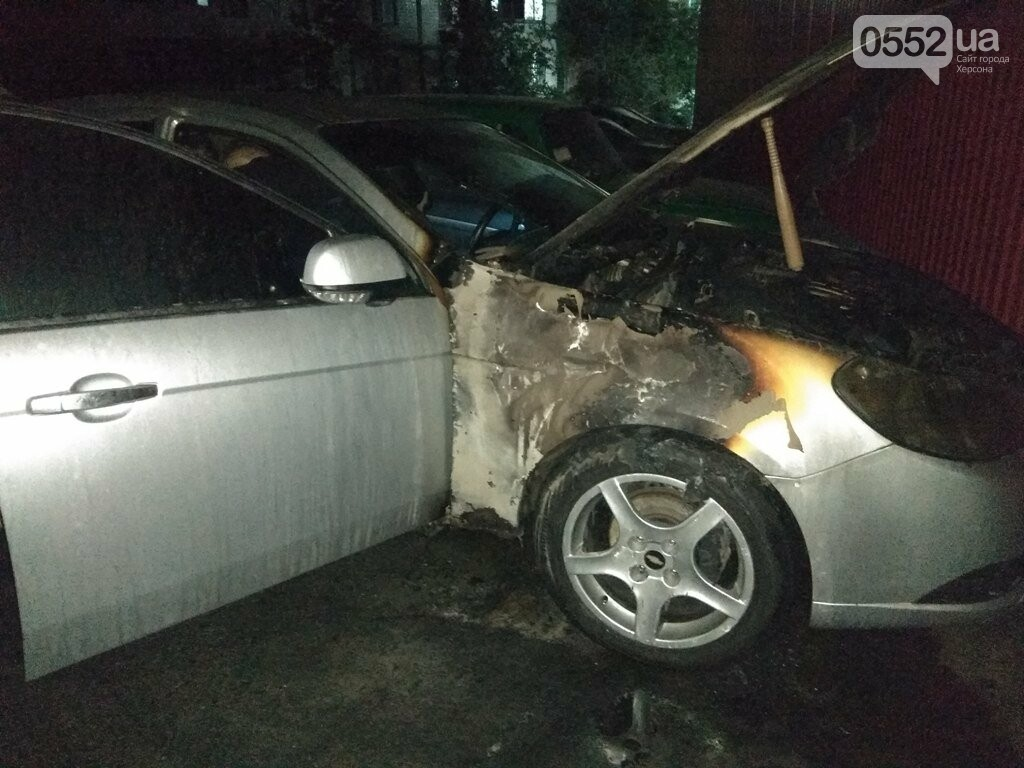На Херсонщине машины вспыхивают, как факелы: за сутки пожарные дважды тушили иномарки, фото-4