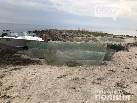 В Херсонской области браконьеры за одну ночь наловили морепродуктов на два миллиона гривен, фото-3
