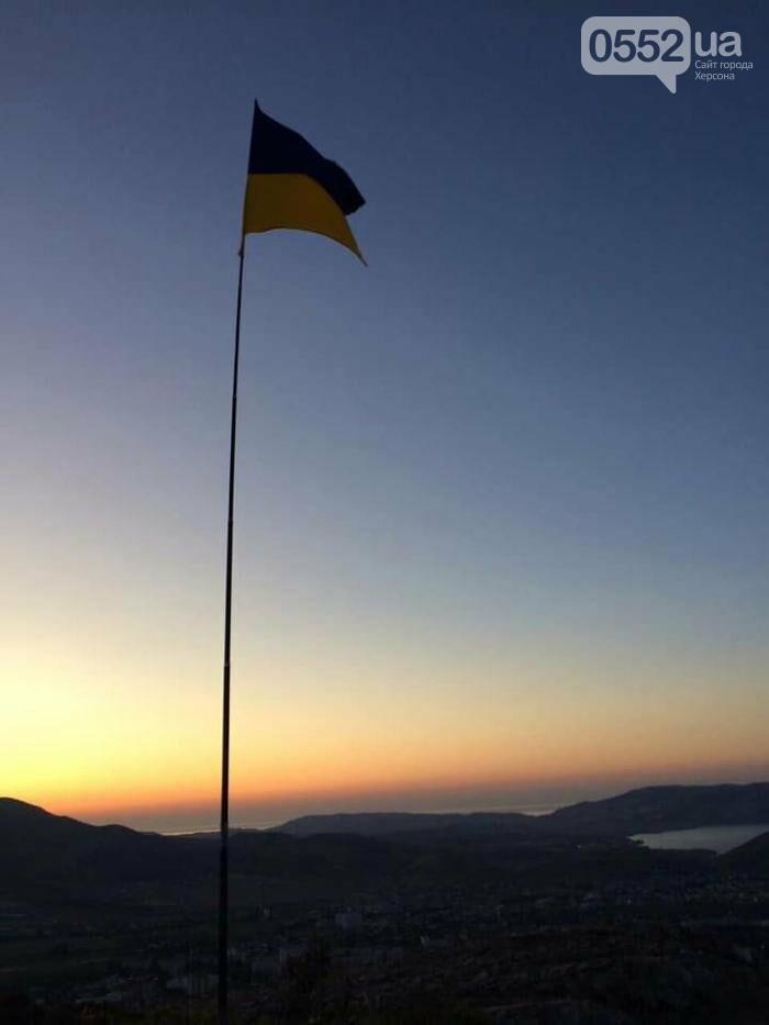 В Крыму подняли флаг Украины: сообщает советник главы Херсонской ОГА Богдан Ковалев (ВИДЕО), фото-2