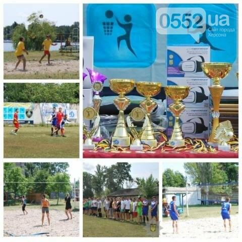 Команда девушек-полицейских из Херсона выиграла областной турнир по пляжному волейболу, фото-1