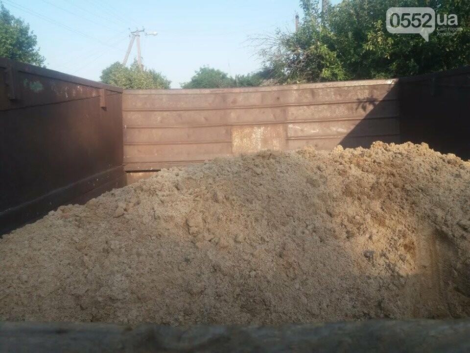 В Херсонской области пойман «песочный вор», который едва не лишил жизни двух подростков в ДТП, фото-1