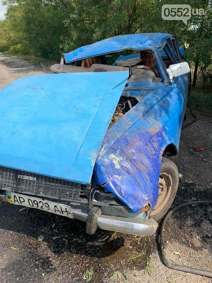На трассе Херсон-Запорожье в страшное ДТП попал инвалид: его спасли волонтеры из Херсона, фото-3