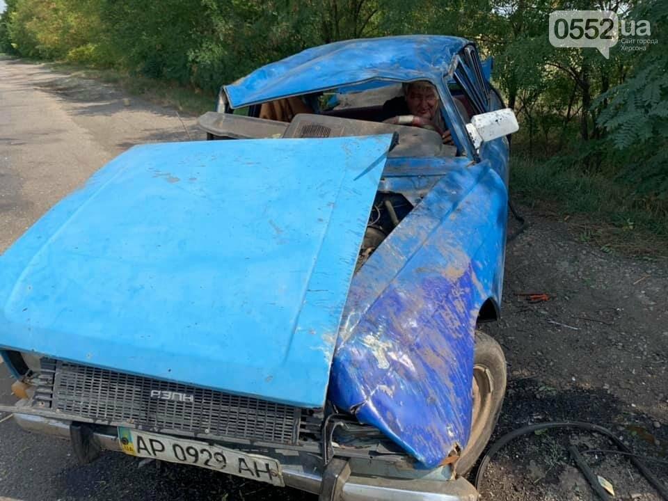 На трассе Херсон-Запорожье в страшное ДТП попал инвалид: его спасли волонтеры из Херсона, фото-2