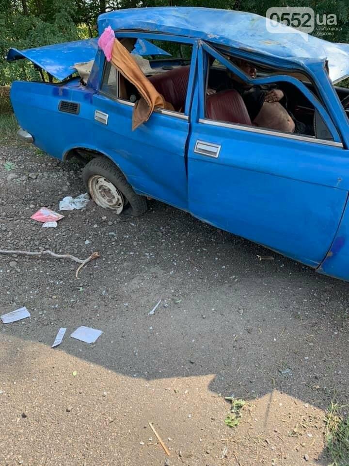 На трассе Херсон-Запорожье в страшное ДТП попал инвалид: его спасли волонтеры из Херсона, фото-1