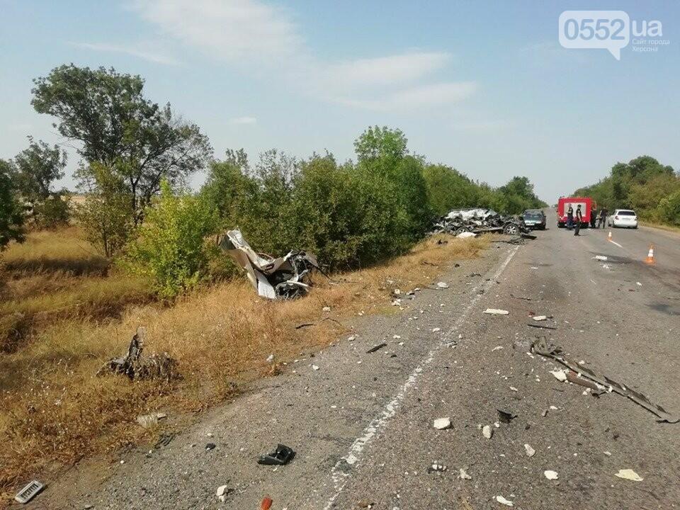 Жуткое ДТП под Херсоном: грузовик разорвал в клочья эпатажный «Лексус», пассажирка погибла, фото-3