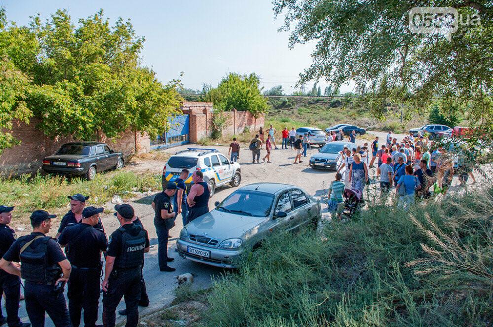 Мэра Херсона и участников акции протеста не пустили на территорию «вонючего завода» (ФОТО), фото-6
