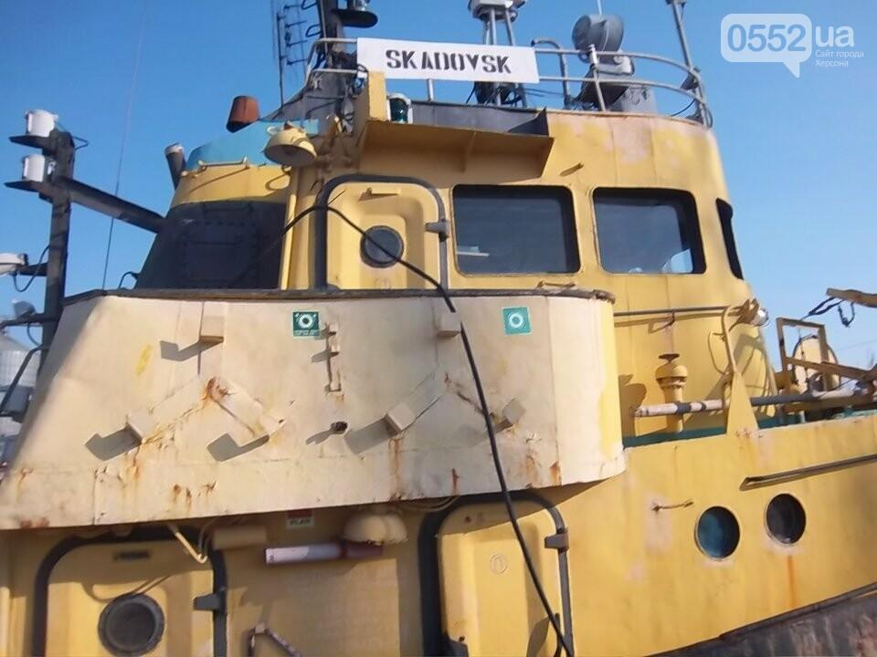 Скадовский порт на Херсонщине продает 40-летний буксир с пробоиной: срочно нужны деньги, фото-4
