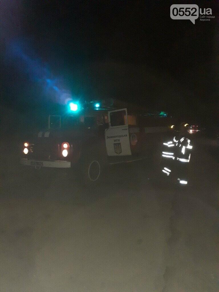 На Херсонщине фура с арбузами вспыхнула, словно спичка: пожар из-за самовозгорания соломы, фото-4