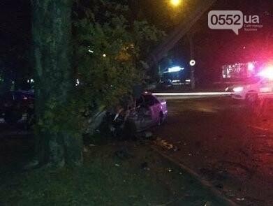 Страшное ночное ДТП на День города в Херсоне: Мерседес сметал с пути деревья, столбы и машины, фото-3