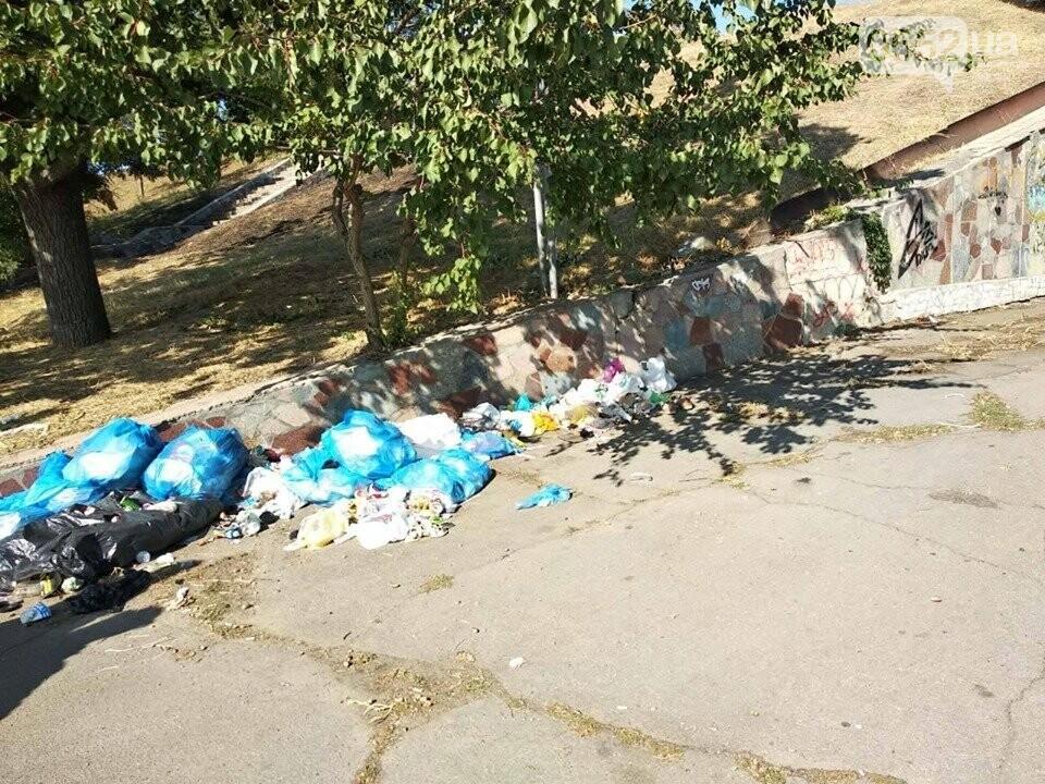 Студентки с метлами вернули Херсону чистоту после Дня города: десятки мешков с мусором, фото-4