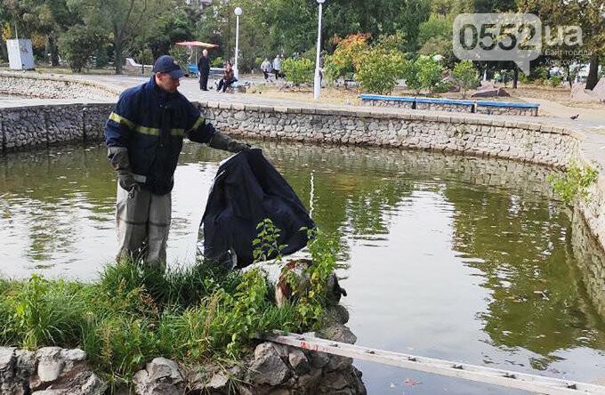 Люди спасли жизнь собаке в Новой Каховке: едва не утонула в водяной ловушке (ФОТОРЕПОРТАЖ), фото-5
