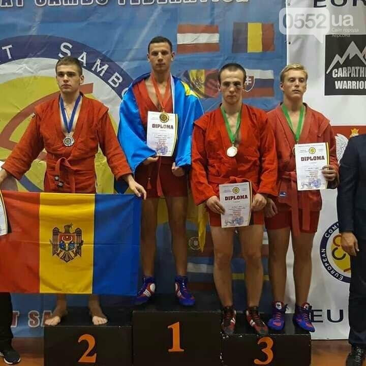 В Херсон вернулись с победой: наши бойцы выиграли Чемпионат Европы по боевому самбо, фото-2