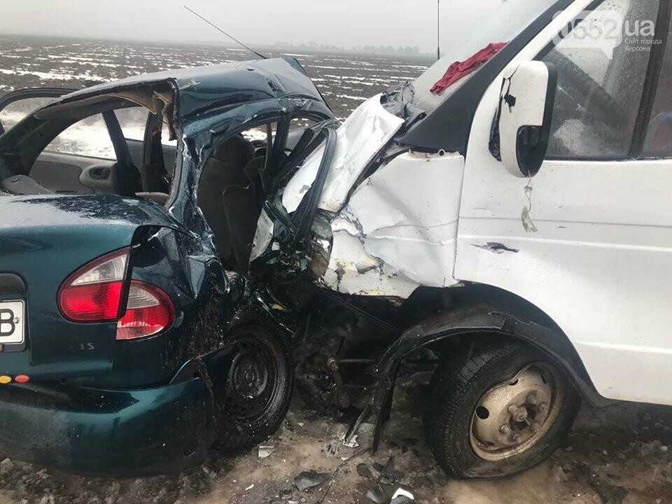 Трое погибших, двое раненых: пассажирский автобус попал в ДТП на трассе Херсон-Снигиревка, фото-3