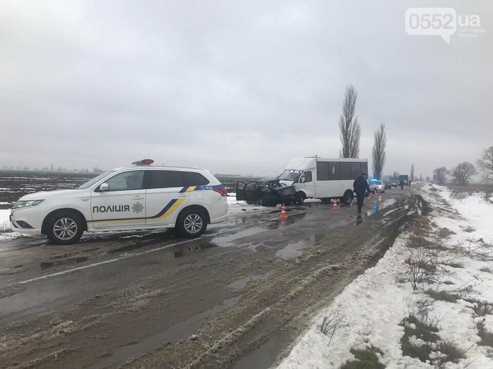 Трое погибших, двое раненых: пассажирский автобус попал в ДТП на трассе Херсон-Снигиревка, фото-2