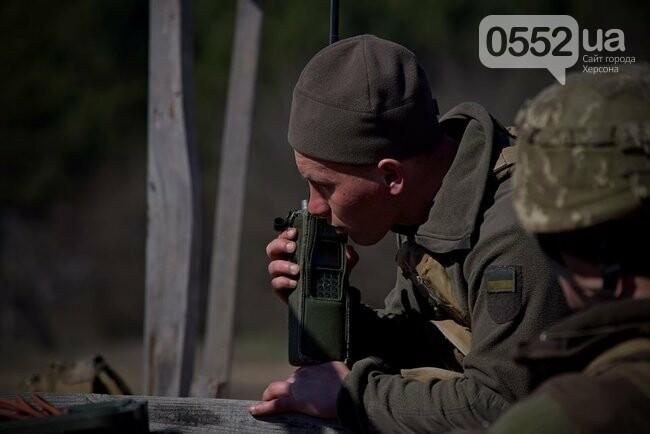 Морская пехота отрабатывает приемы боя на Херсонщине в рамках военных учений (ФОТО), фото-6