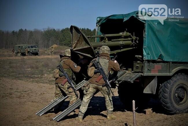 Морская пехота отрабатывает приемы боя на Херсонщине в рамках военных учений (ФОТО), фото-5