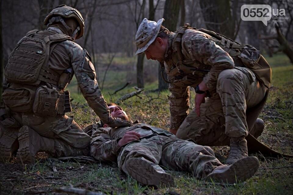Морская пехота отрабатывает приемы боя на Херсонщине в рамках военных учений (ФОТО), фото-2