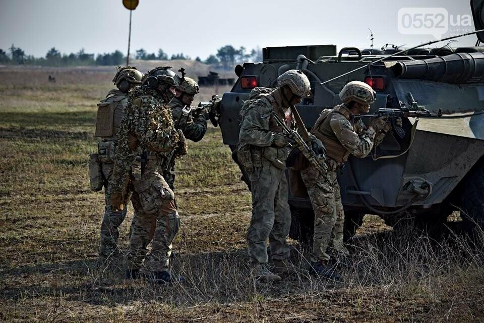 Морская пехота отрабатывает приемы боя на Херсонщине в рамках военных учений (ФОТО), фото-7