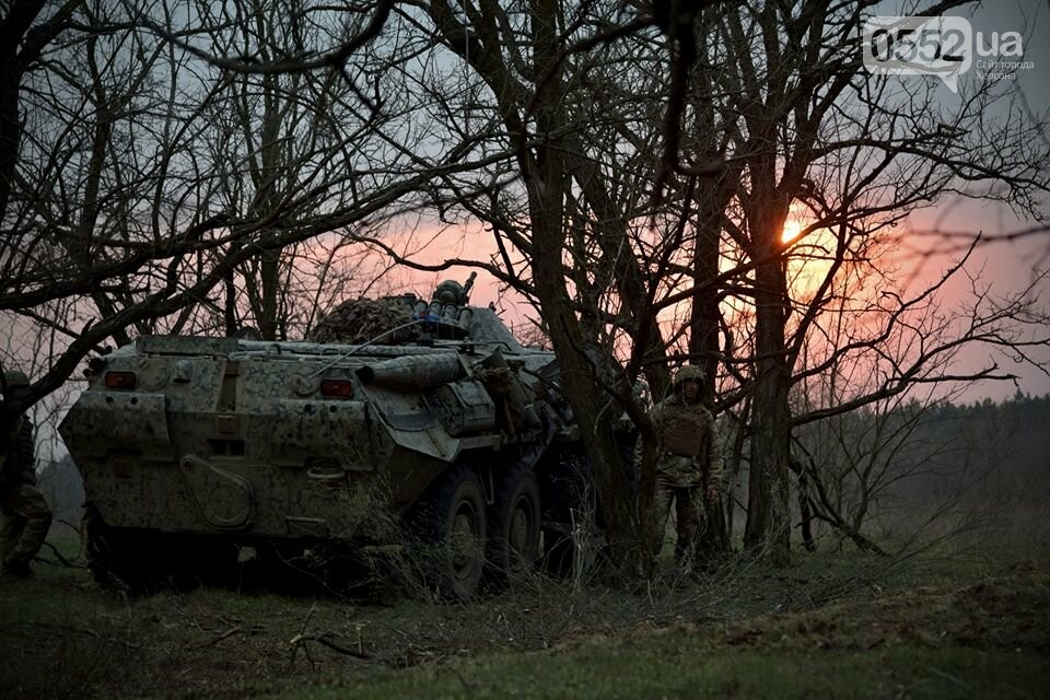 Морская пехота отрабатывает приемы боя на Херсонщине в рамках военных учений (ФОТО), фото-8