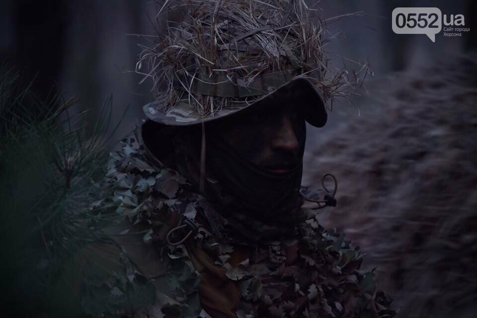 Морская пехота отрабатывает приемы боя на Херсонщине в рамках военных учений (ФОТО), фото-9