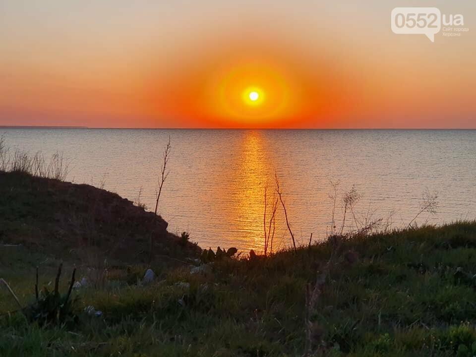"""""""Ангел"""" пролетел над Азовским морем в Херсонской области: фотограф сделал уникальные снимки, фото-2"""