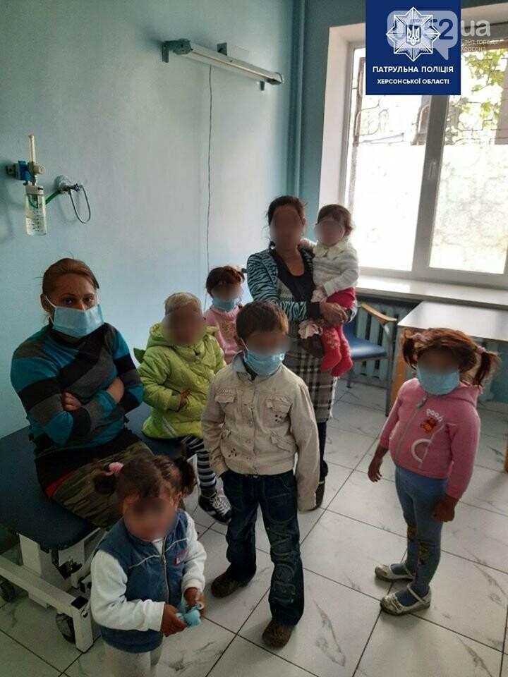 Семерых детей без свидетельства о рождении забрали с городской свалки полицейские Херсонщины, фото-4