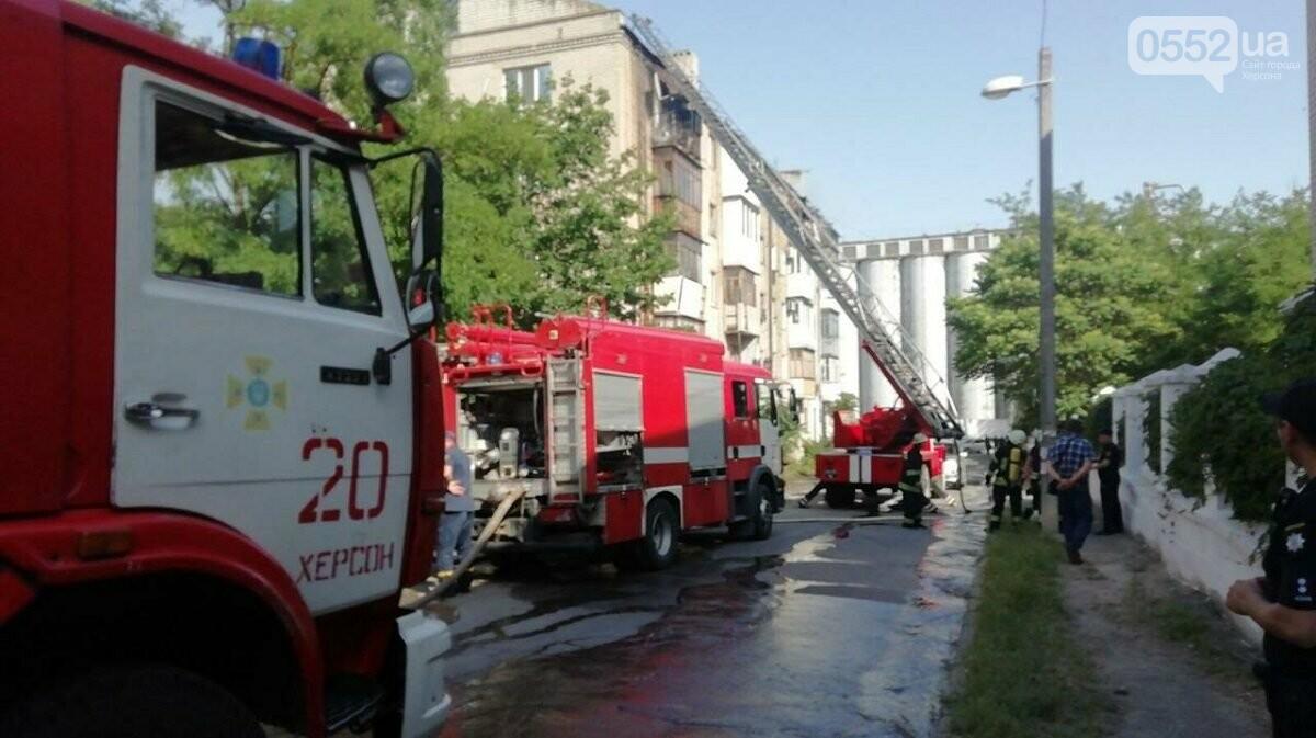 Пожар в херсонской многоэтажке: помощь погорельцам окажут из городского бюджета  , фото-3