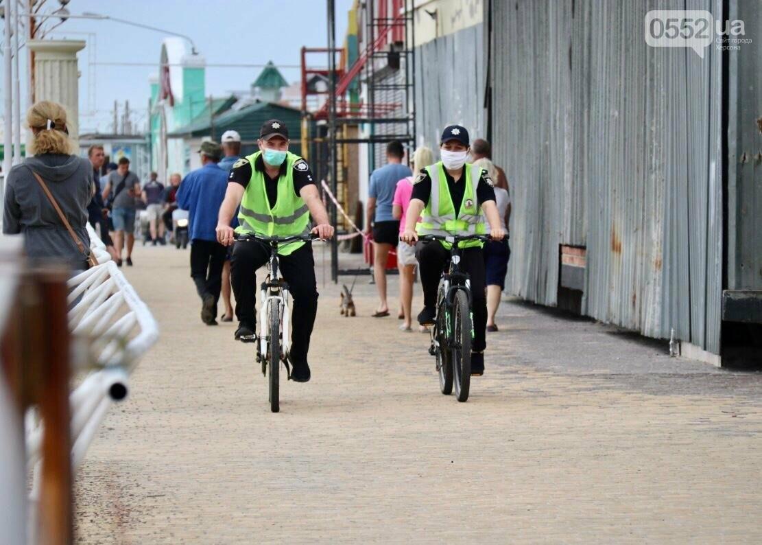 В курортной зоне Херсонщины начали работу четыре полицейских станции, фото-5