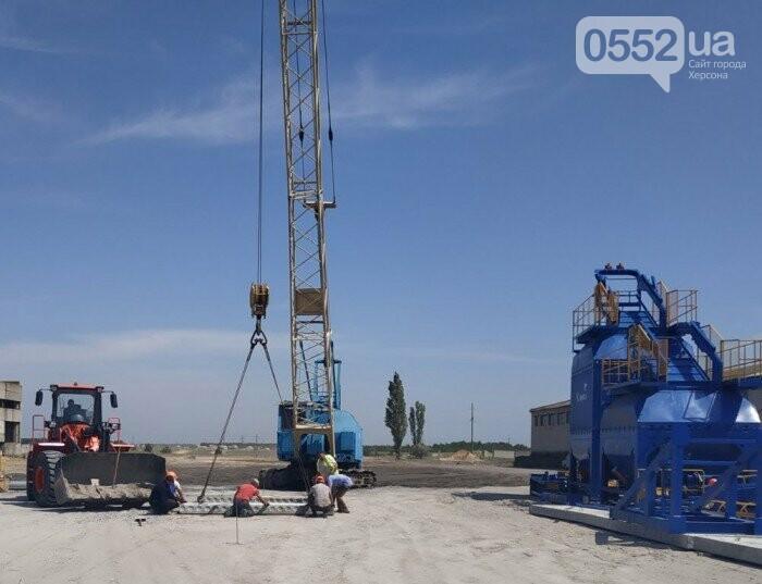 В Новой Каховке за месяц построили новый асфальтобетонный завод, фото-2