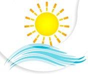 Логотип - Югтранс поездки, море, Ж Порт, Лазурное, Скадовск, Карпаты, Львов, Умань, Почаев, Аскания-Нова