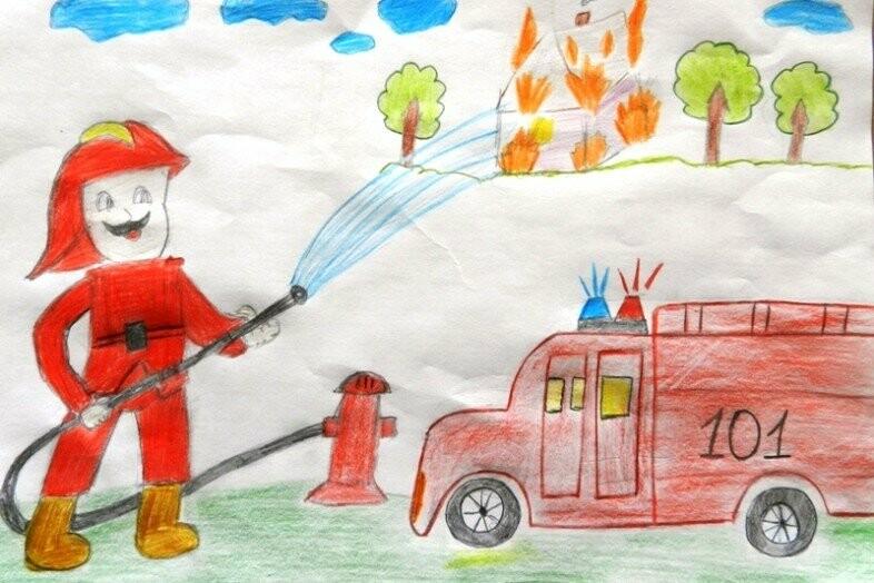 Детские картинки спасатели мчс