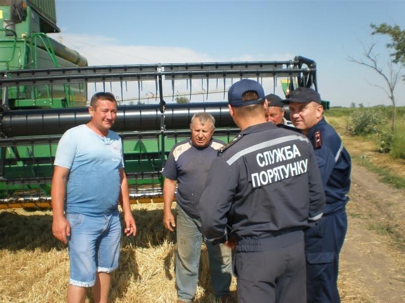 Рятувальники перевірили дотримання вимог під час збирання врожаю, фото-1