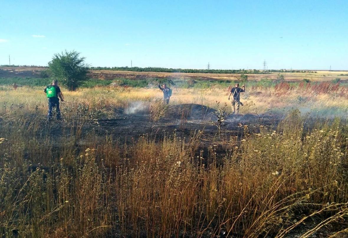 Минулої доби ліквідовано 7 пожеж сухої трави та сміття, фото-2