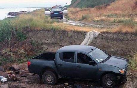 Поліція встановлює обставини ДТП у Генічеську, фото-1