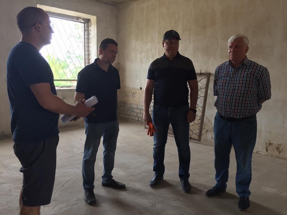 Глава Херсонской ОГА инспектировал будущий Дом Футбола, фото-2