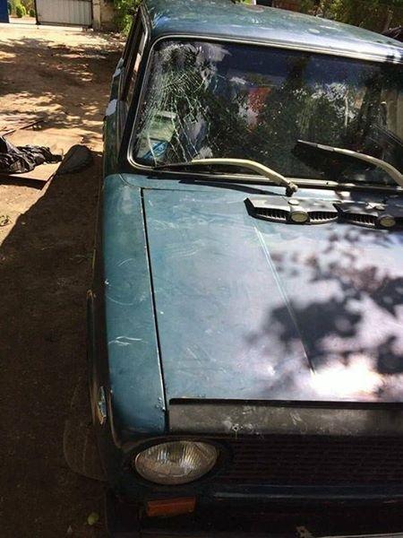 На Херсонщині поліцейські упродовж доби розшукали водія, який збив двох чоловіків та втік з місця події, фото-1