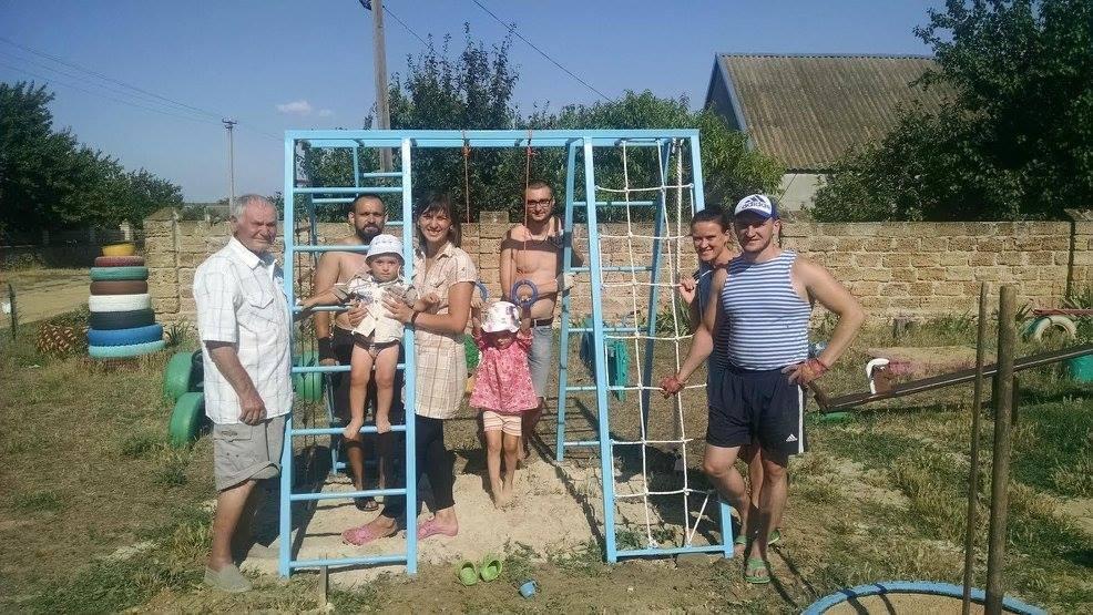 На Херсонщині реалізується «Децентралізація дитячих майданчиків», фото-1