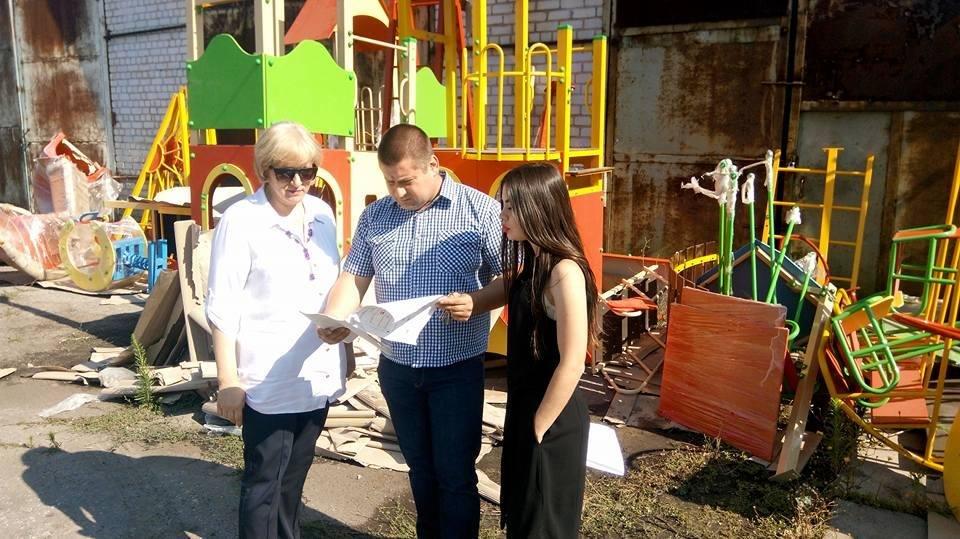 В райцентре на Херсонщине установят 5 детских площадок, фото-1