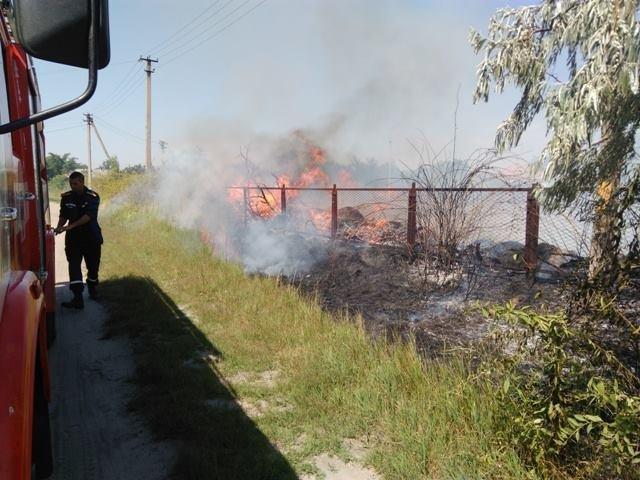 Минулої доби зареєстровано 23 пожежі і загорянь сухої трави, сміття та залишків очерету, фото-1