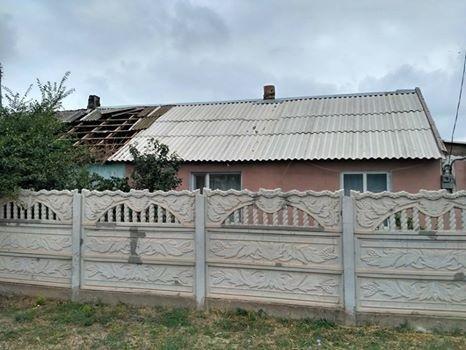 У місті Каланчак горів житловий будинок, фото-1