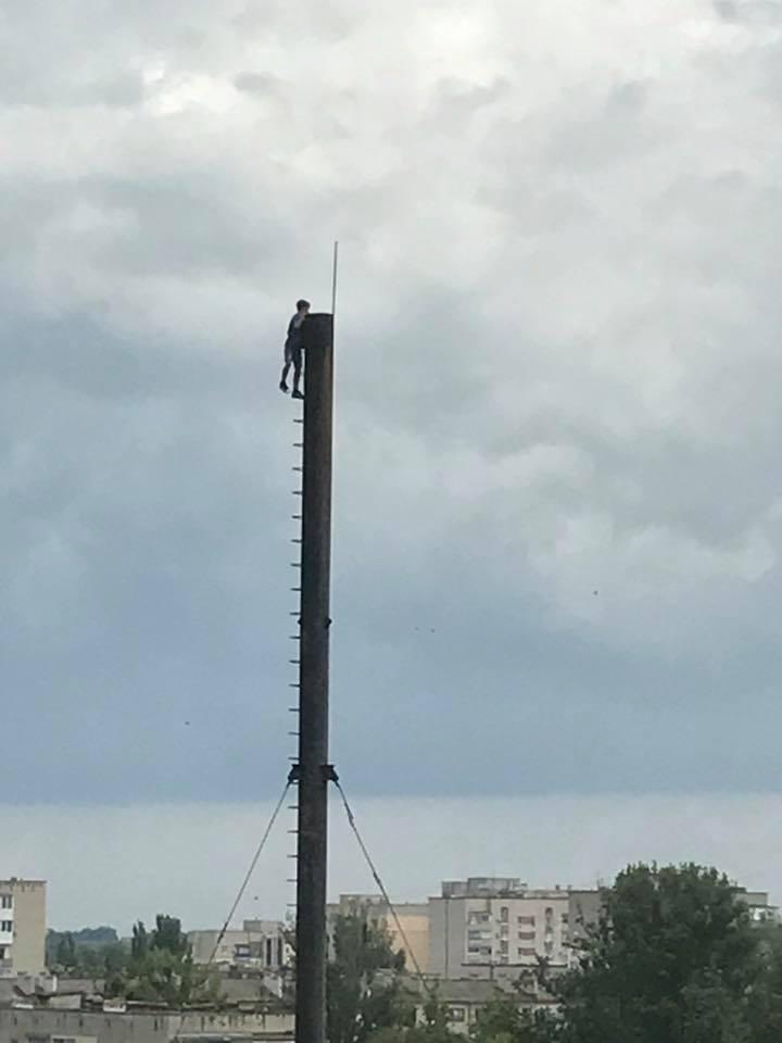 На Херсонщине подросток рисковал жизнью ради сэлфи, фото-1