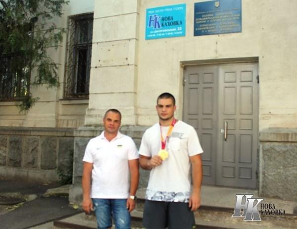 Чемпион Европы по метанию молота вернулся на Херсонщину, фото-1