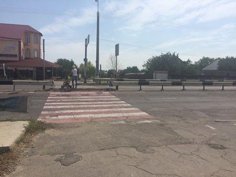 Власти Херсонщины обещают решить проблему светофора в Чернобаевке, фото-1