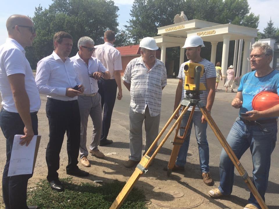 Власти Херсонщины обещают решить проблему светофора в Чернобаевке, фото-2