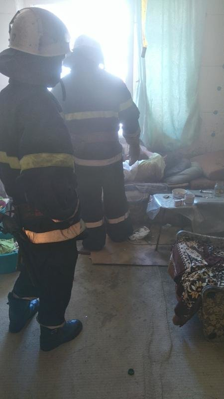 У Новій Каховці тарпилася пожежа через паління у ліжку, фото-1